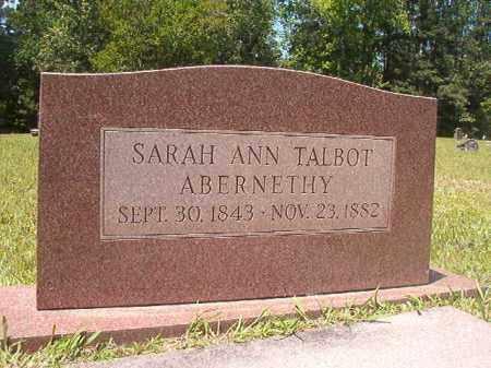 ABERNETHY, SARAH ANN - Calhoun County, Arkansas | SARAH ANN ABERNETHY - Arkansas Gravestone Photos