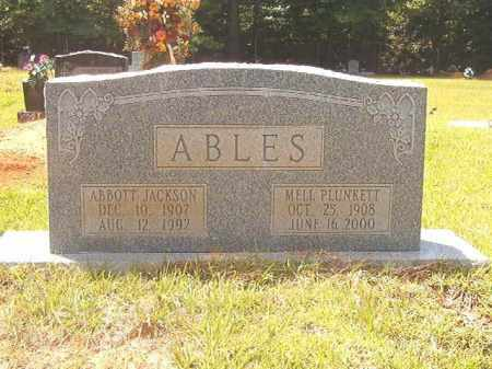 ABLES, MELL - Calhoun County, Arkansas | MELL ABLES - Arkansas Gravestone Photos
