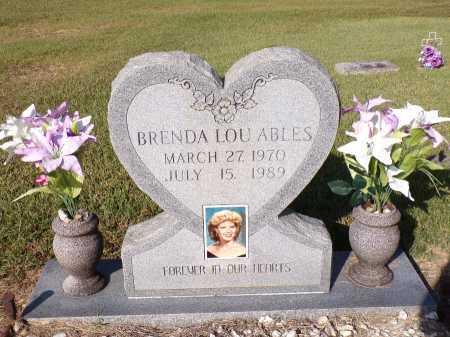 ABLES, BRENDA LOU - Calhoun County, Arkansas | BRENDA LOU ABLES - Arkansas Gravestone Photos