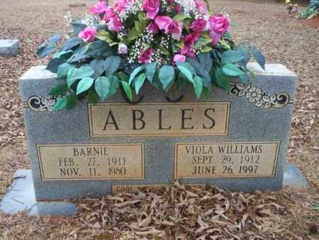 ABLES, BARNIE - Calhoun County, Arkansas | BARNIE ABLES - Arkansas Gravestone Photos