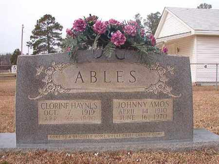 ABLES, JOHNNY AMOS - Calhoun County, Arkansas | JOHNNY AMOS ABLES - Arkansas Gravestone Photos