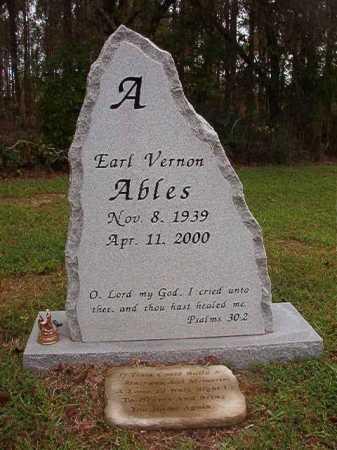ABLES, EARL VERNON (OBIT) - Calhoun County, Arkansas | EARL VERNON (OBIT) ABLES - Arkansas Gravestone Photos