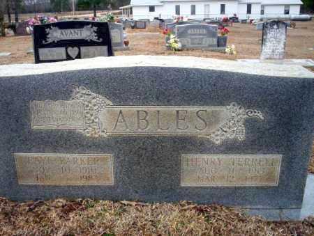 ABLES, HENRY TERRELL - Calhoun County, Arkansas | HENRY TERRELL ABLES - Arkansas Gravestone Photos