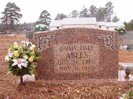 ABLES, JIMMY DALE - Calhoun County, Arkansas | JIMMY DALE ABLES - Arkansas Gravestone Photos