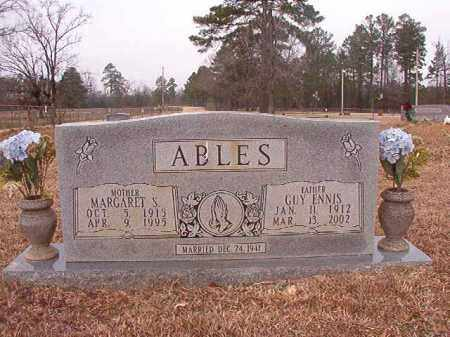 ABLES, MARGARET - Calhoun County, Arkansas | MARGARET ABLES - Arkansas Gravestone Photos
