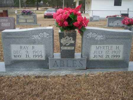ABLES, RAY R - Calhoun County, Arkansas | RAY R ABLES - Arkansas Gravestone Photos