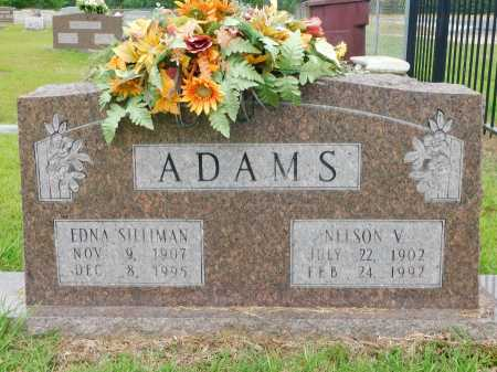 SILLIMAN ADAMS, EDNA - Calhoun County, Arkansas | EDNA SILLIMAN ADAMS - Arkansas Gravestone Photos