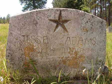 ADAMS, JESSE - Calhoun County, Arkansas | JESSE ADAMS - Arkansas Gravestone Photos