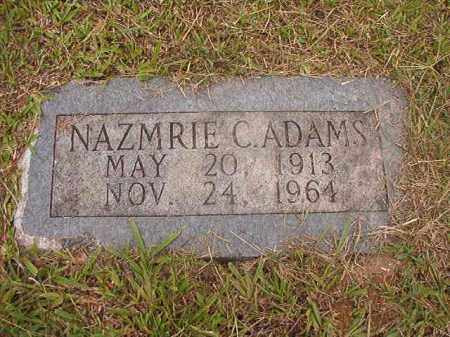 ADAMS, NAZMRIE C - Calhoun County, Arkansas | NAZMRIE C ADAMS - Arkansas Gravestone Photos