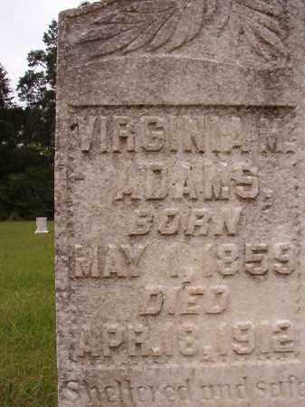 ADAMS, VIRGINIA M - Calhoun County, Arkansas | VIRGINIA M ADAMS - Arkansas Gravestone Photos