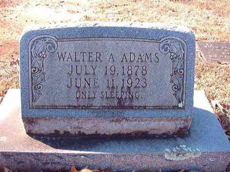 ADAMS, WALTER A - Calhoun County, Arkansas | WALTER A ADAMS - Arkansas Gravestone Photos
