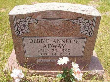 ADWAY, DEBBIE ANNETTE - Calhoun County, Arkansas | DEBBIE ANNETTE ADWAY - Arkansas Gravestone Photos