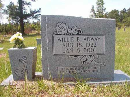 ADWAY, WILLIE B - Calhoun County, Arkansas | WILLIE B ADWAY - Arkansas Gravestone Photos