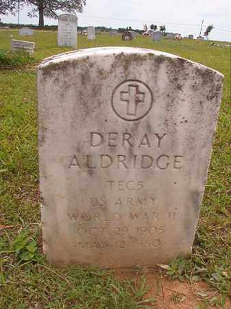 ALDRIDGE (VETERAN WWII), DERAY - Calhoun County, Arkansas | DERAY ALDRIDGE (VETERAN WWII) - Arkansas Gravestone Photos