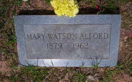 WATSON ALFORD, MARY - Calhoun County, Arkansas | MARY WATSON ALFORD - Arkansas Gravestone Photos