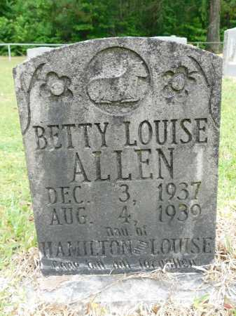 ALLEN, BETTY LOUISE - Calhoun County, Arkansas | BETTY LOUISE ALLEN - Arkansas Gravestone Photos
