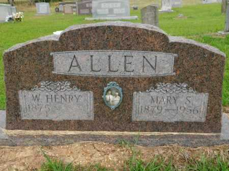 ALLEN, W HENRY - Calhoun County, Arkansas | W HENRY ALLEN - Arkansas Gravestone Photos