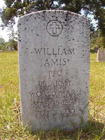 AMIS (VETERAN WWI), WILLIAM - Calhoun County, Arkansas | WILLIAM AMIS (VETERAN WWI) - Arkansas Gravestone Photos