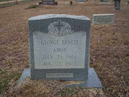 AMON, GEORGE ERNEST - Calhoun County, Arkansas | GEORGE ERNEST AMON - Arkansas Gravestone Photos