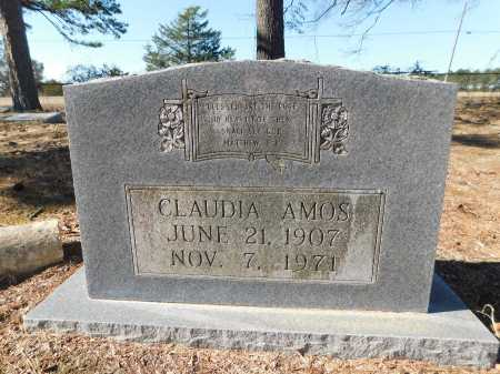 AMOS, CLAUDIA - Calhoun County, Arkansas | CLAUDIA AMOS - Arkansas Gravestone Photos