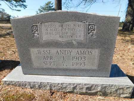 AMOS, JESSE ANDY - Calhoun County, Arkansas | JESSE ANDY AMOS - Arkansas Gravestone Photos