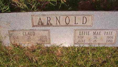 ARNOLD, EFFIE MAE - Calhoun County, Arkansas | EFFIE MAE ARNOLD - Arkansas Gravestone Photos