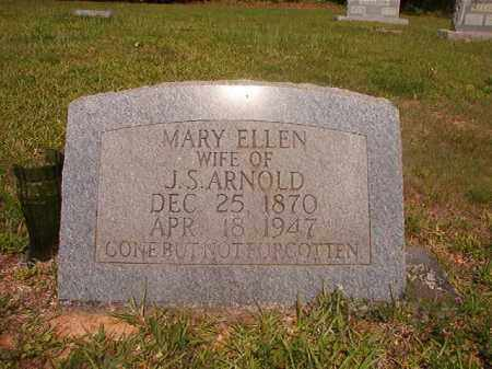 ARNOLD, MARY ELLEN - Calhoun County, Arkansas | MARY ELLEN ARNOLD - Arkansas Gravestone Photos
