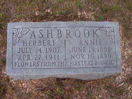 ASHBROOK, ANNIE - Calhoun County, Arkansas | ANNIE ASHBROOK - Arkansas Gravestone Photos