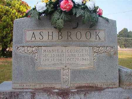 ASHBROOK, MINNIE A - Calhoun County, Arkansas | MINNIE A ASHBROOK - Arkansas Gravestone Photos