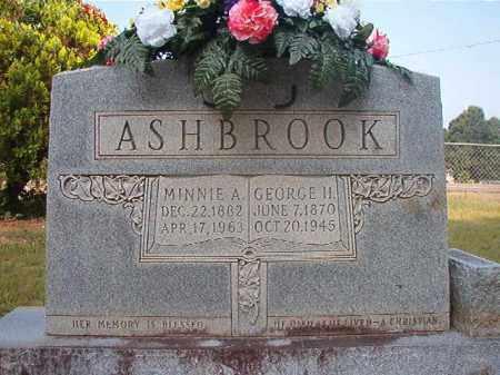 ASHBROOK, MINNIE A - Calhoun County, Arkansas | MINNIE A ASHBROOK - Arkansas Gravestone Photos