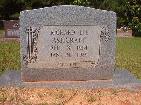 ASHCRAFT, RICHARD LEE - Calhoun County, Arkansas | RICHARD LEE ASHCRAFT - Arkansas Gravestone Photos