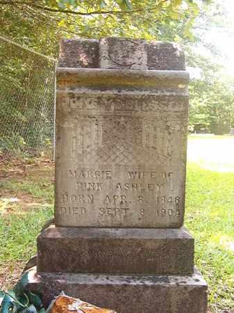 ASHLEY, MARGIE - Calhoun County, Arkansas   MARGIE ASHLEY - Arkansas Gravestone Photos