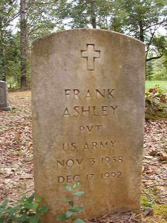 ASHLEY (VETERAN), FRANK - Calhoun County, Arkansas | FRANK ASHLEY (VETERAN) - Arkansas Gravestone Photos