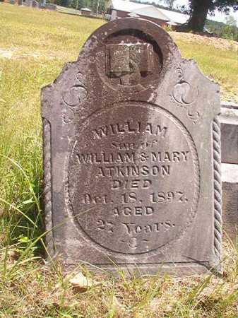 ATKINSON, WILLIAM - Calhoun County, Arkansas | WILLIAM ATKINSON - Arkansas Gravestone Photos