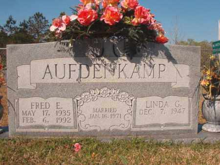 AUFDENKAMP, FRED E - Calhoun County, Arkansas | FRED E AUFDENKAMP - Arkansas Gravestone Photos