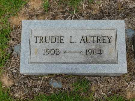 AUTREY, TRUDIE L - Calhoun County, Arkansas | TRUDIE L AUTREY - Arkansas Gravestone Photos
