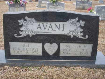AVANT, BILL - Calhoun County, Arkansas | BILL AVANT - Arkansas Gravestone Photos