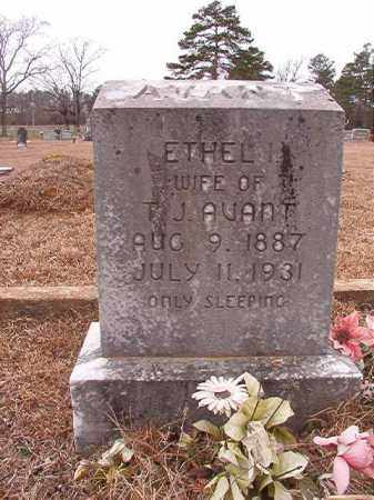 AVANT, ETHEL I - Calhoun County, Arkansas | ETHEL I AVANT - Arkansas Gravestone Photos