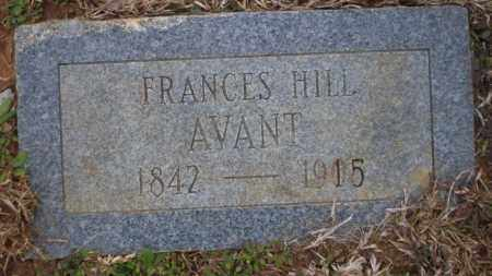 HILL AVANT, FRANCES - Calhoun County, Arkansas | FRANCES HILL AVANT - Arkansas Gravestone Photos