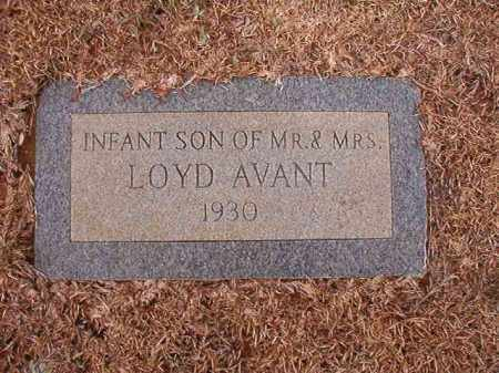 AVANT, INFANT SON - Calhoun County, Arkansas | INFANT SON AVANT - Arkansas Gravestone Photos