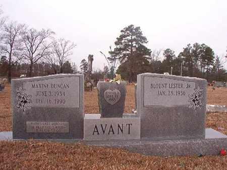 AVANT, MAXINE - Calhoun County, Arkansas | MAXINE AVANT - Arkansas Gravestone Photos