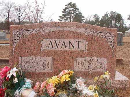AVANT, PAUL J - Calhoun County, Arkansas | PAUL J AVANT - Arkansas Gravestone Photos