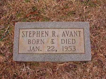 AVANT, STEPHEN R - Calhoun County, Arkansas | STEPHEN R AVANT - Arkansas Gravestone Photos