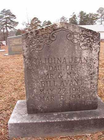 AVANT, TAJUINA JEAN - Calhoun County, Arkansas | TAJUINA JEAN AVANT - Arkansas Gravestone Photos