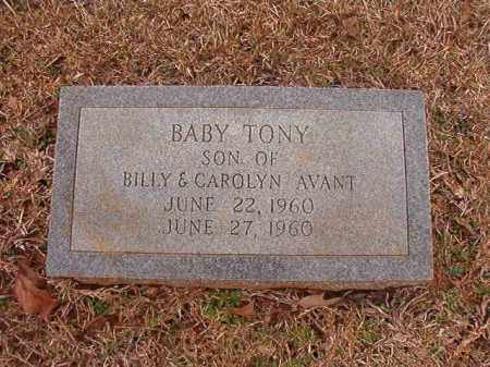AVANT, TONY - Calhoun County, Arkansas | TONY AVANT - Arkansas Gravestone Photos