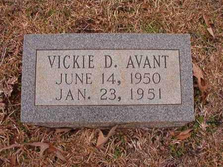 AVANT, VICKIE D - Calhoun County, Arkansas | VICKIE D AVANT - Arkansas Gravestone Photos