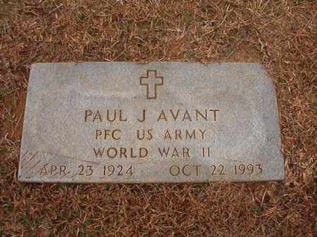 AVANT (VETERAN WWII), PAUL J - Calhoun County, Arkansas | PAUL J AVANT (VETERAN WWII) - Arkansas Gravestone Photos