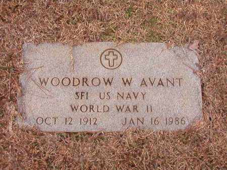 AVANT (VETERAN WWII), WOODROW W - Calhoun County, Arkansas | WOODROW W AVANT (VETERAN WWII) - Arkansas Gravestone Photos