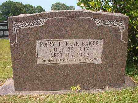 BAKER, MARY ELEESE - Calhoun County, Arkansas | MARY ELEESE BAKER - Arkansas Gravestone Photos