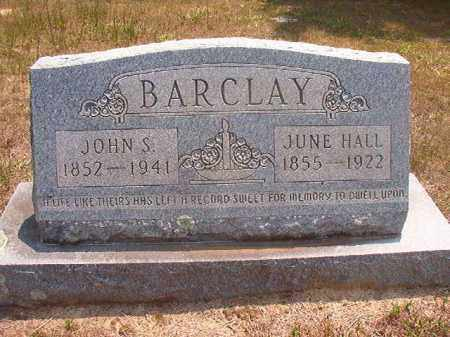 BARCLAY, JUNE - Calhoun County, Arkansas | JUNE BARCLAY - Arkansas Gravestone Photos